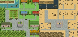 Visualisation - Frog's Reach (Before and After)